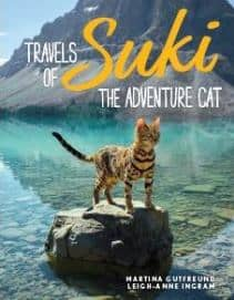 Travels of Suki the Adventure Cat by Martina Gutfreund & Leigh-Anne Ingram – ALL RIGHTS SOLD to Andrews McMeel Publishing
