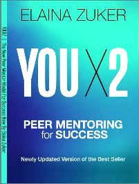 YOU X2: Peer Mentoring for Success! by Elaina Zuker